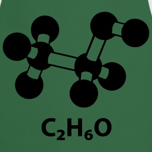 alcohol molecule with formula C2H6O T-Shirts - Cooking Apron