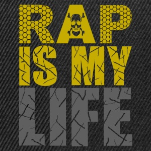 rap is my life T-Shirts - Snapback Cap
