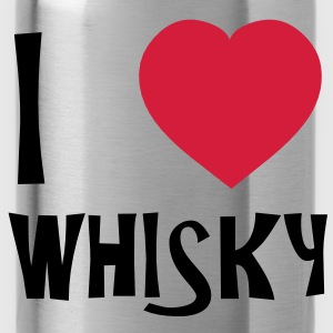 I Love Whisky T-shirts - Vattenflaska