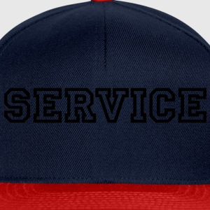 Service T-Shirts - Casquette snapback