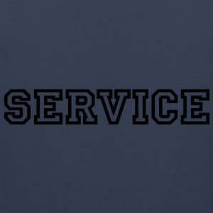 Service T-Shirts - Men's Premium Tank Top