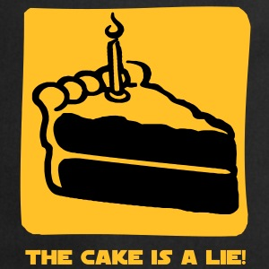 The Cake is a Lie T-shirt - Grembiule da cucina