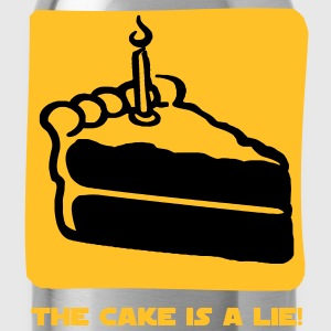 The Cake is a Lie Camisetas - Cantimplora