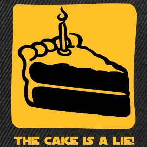 The Cake is a Lie T-shirt - Snapback Cap