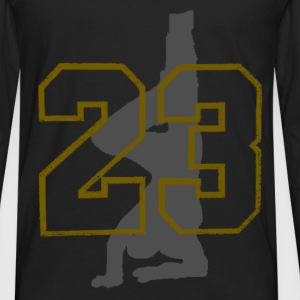 break dance T-Shirts - Men's Premium Longsleeve Shirt