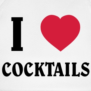 I Love Cocktails T-shirts - Basebollkeps