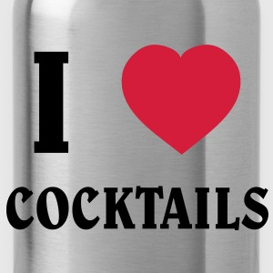 I Love Cocktails T-shirts - Vattenflaska