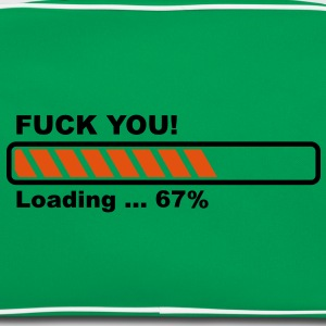 Fuck You! loading - progress bar! T-Shirts - Retro Bag