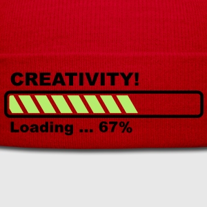 Creativity Loading - progress bar! T-Shirts - Winter Hat