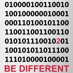 Be Different - Ser diferentes - Binario - Digital Camisetas - Taza