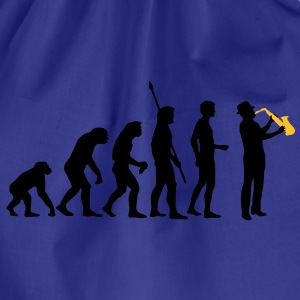 evolution_saxophon_a_2 T-shirts - Gymnastikpåse