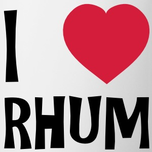 I Love Rhum T-shirts - Mugg