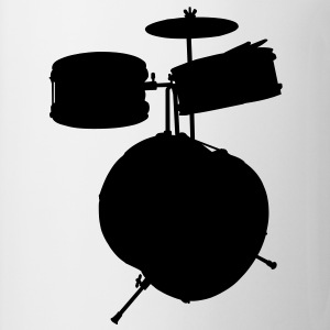 music drums drum set T-shirts - Mok