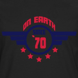 70_on_earth Camisetas - Camiseta de manga larga premium hombre