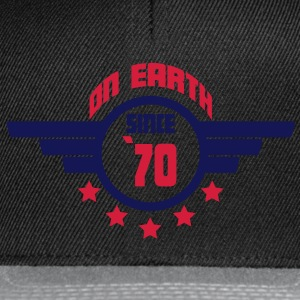 70_on_earth Camisetas - Gorra Snapback