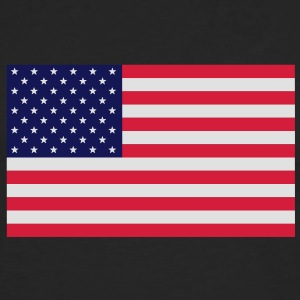 Stars and Stripes T-Shirt - Männer Premium Langarmshirt