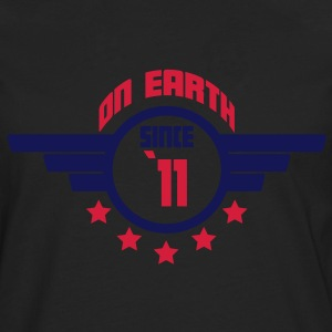 11_on_earth Camisetas - Camiseta de manga larga premium hombre