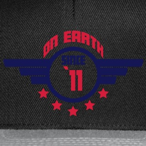 11_on_earth Camisetas - Gorra Snapback