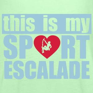 this is my sport escalade Tee shirts - Débardeur Femme marque Bella