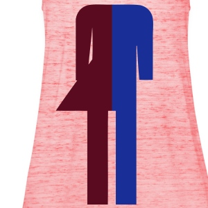 Ladyboy / Tomboy Toilet / Restroom Thai Sign (Headless) - Women's Tank Top by Bella