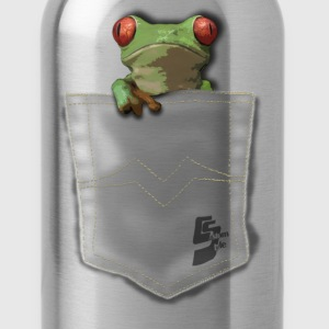 pocket grenouille by customstyle Tee shirts - Gourde