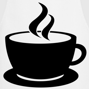 coffee cup tea cafe T-shirts - Förkläde