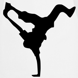 breakdance dance music hiphop Camisetas - Delantal de cocina