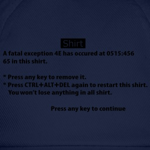 BSOD - Blue Screen of Death - Windows Tee shirts - Casquette classique