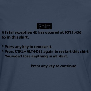 BSOD - Blue Screen of Death - Windows Tee shirts - T-shirt manches longues Premium Homme