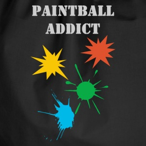 paintball addict design Tee shirts - Sac de sport léger