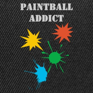 paintball addict design Tee shirts - Casquette snapback