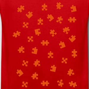 jigsaw puzzle - jigsaw puzzle T-shirts - Mannen Premium tank top