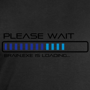 Please Wait - Brain.exe is loading. Tee shirts - Sweat-shirt Homme Stanley & Stella