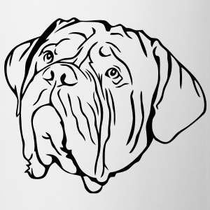 Tête de Dogue de Bordeaux Tee shirts - Tasse