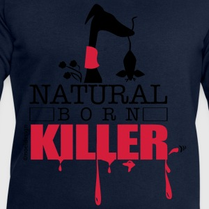 natura born killer T-Shirts - Men's Sweatshirt by Stanley & Stella
