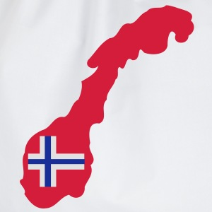 NORWAY NORGE - Drawstring Bag
