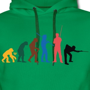 Colour Snooker Evolution - Snookershirt T-shirts - Herre Premium hættetrøje