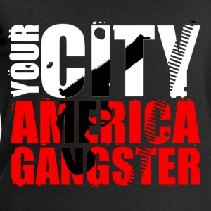 your city america gangster T-Shirts - Men's Sweatshirt by Stanley & Stella