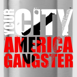 your city america gangster T-Shirts - Water Bottle