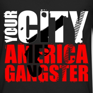 your city america gangster T-Shirts - Männer Premium Langarmshirt