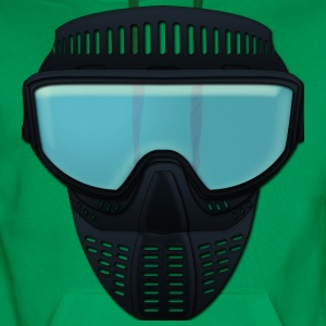 paintball maske T-skjorter - Premium hettegenser for menn