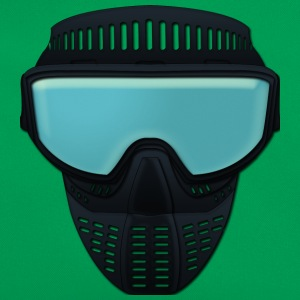 paintball mask Camisetas - Bandolera retro