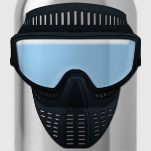 paintball mask T-shirts - Vattenflaska