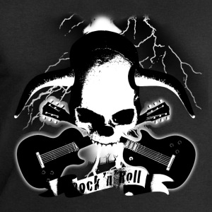 skull_and_horns_and_guitars_b_sw T-Shirts - Men's Sweatshirt by Stanley & Stella