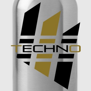 Techno_01 T-Shirts - Trinkflasche