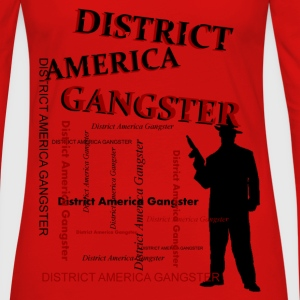 district america gangster T-Shirts - Frauen Premium Langarmshirt