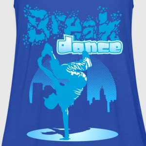 City Breakdance - Vrouwen tank top van Bella