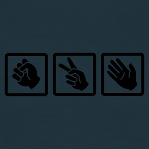 :: rock paper scissors v2 :-: - Men's T-Shirt