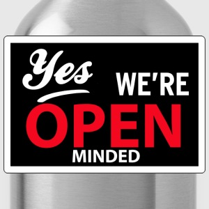 yes we are open minded T-skjorter - Drikkeflaske