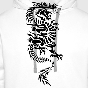 chinese dragon tribal T-Shirts - Men's Premium Hoodie
